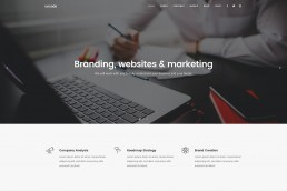 demo content homepage Classic Business Uncode min uai