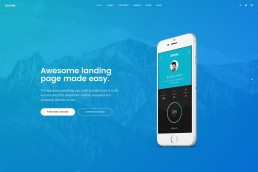 demo content homepage Classic Landing Uncode min uai