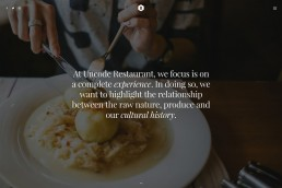 demo content homepage Classic Restaurant Uncode min uai