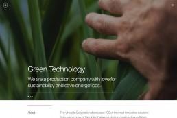 demo content homepage Creative Corporation Uncode min uai