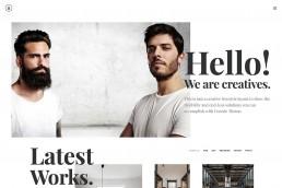 demo content homepage Creative Designers Uncode min uai