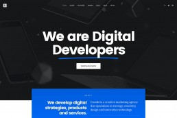 demo content homepage Creative Digital Agency Uncode min uai
