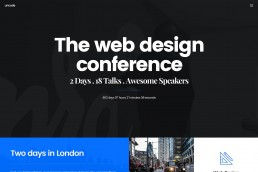 demo content homepage Creative Event Uncode min uai