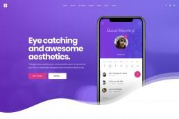 demo content homepage Creative Landing Uncode min uai