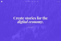 demo content homepage Creative Studio Uncode min uai