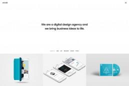 demo content homepage Portfolio Agency Uncode min uai