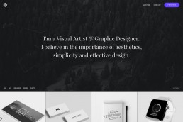 demo content homepage Portfolio Designer Uncode min uai
