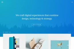 demo content homepage Portfolio Minimal Uncode min uai