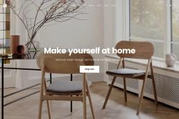 demo content homepage Shop Furniture Uncode min uai